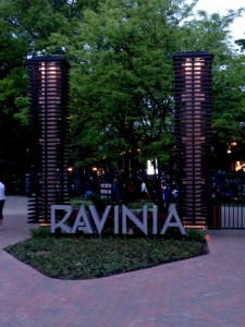 Ravinia Light Towers